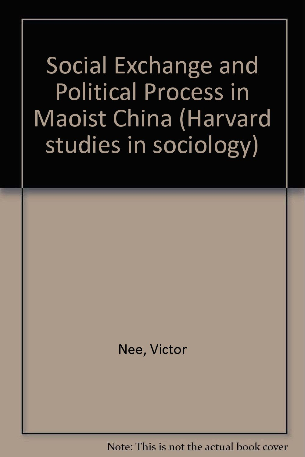 Social Exchange and Political Process in China by Victor Nee