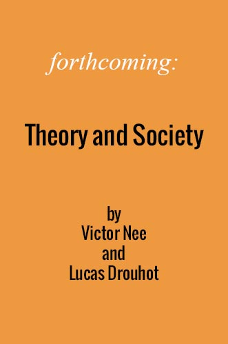 Forthcoming book by Victor Nee and Lucas Drouhot